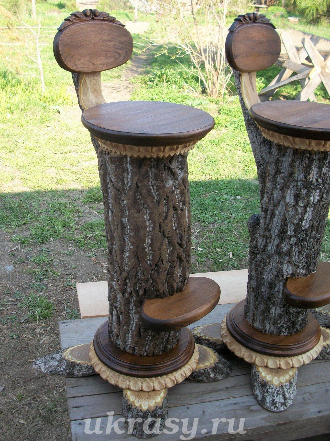Барный стул своими руками из дерева фото чертежи