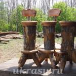 Деревянные барные стулья