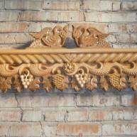 Карниз деревянный для штор Золотая осень