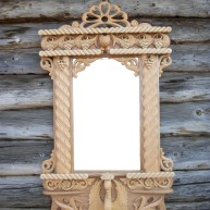 Деревянная рама для зеркала Даурия