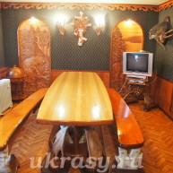 Стол обеденный и лавки