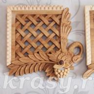 Вентиляционная деревянная решетка