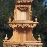 Домашний иконостас из ценных пород древесины