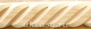 Деревянный резной элемент «Верёвка»(мастер-класс резьбы по дереву)