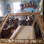 Деревянная рама для картины (зеркала)