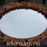 """Резное зеркало """"Деревянная сказка"""""""