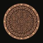 Деревянный щит для кинжала