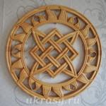 Звезда Лады-Богородицы из кедра