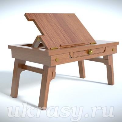 Деревянный столик под ноутбук (проект)